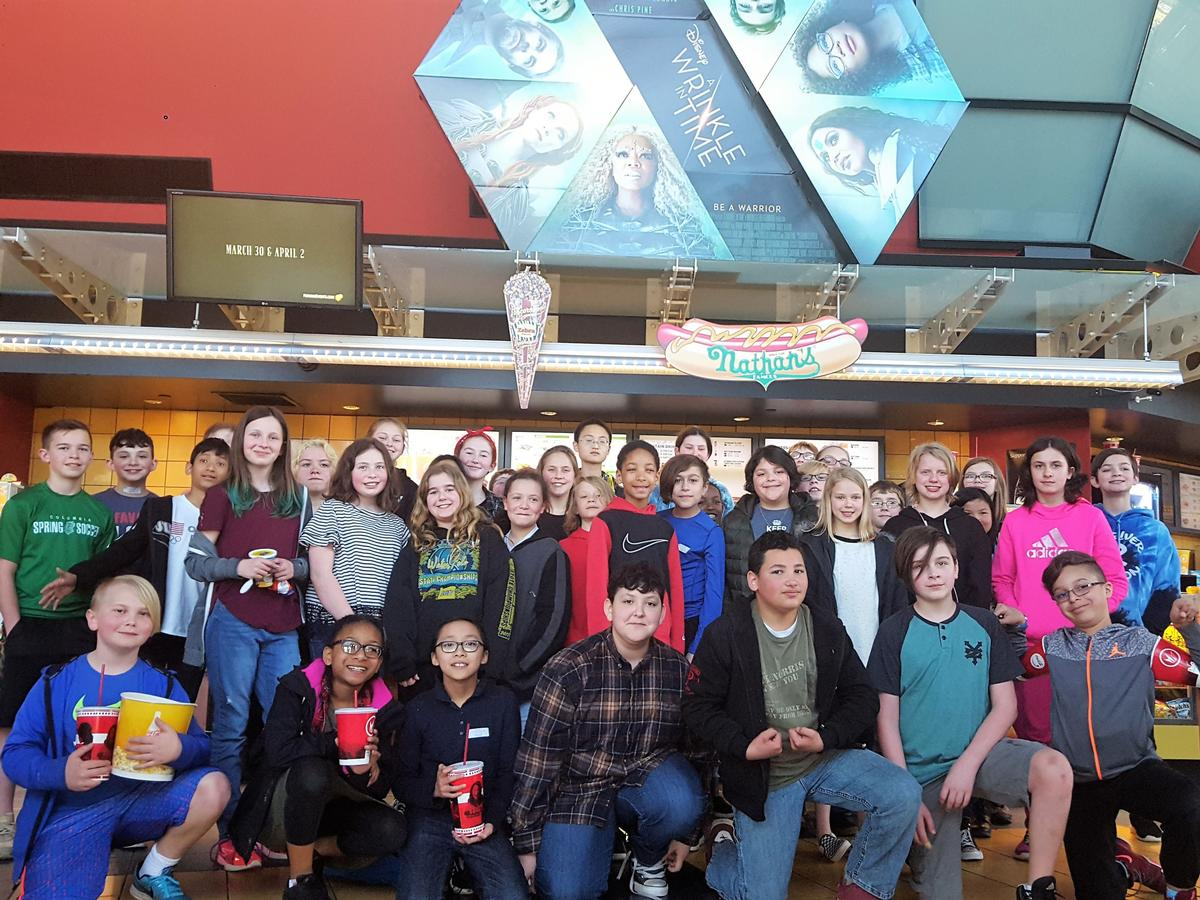 5th and 6th Grade at the Movie Theater