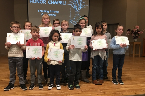 Honor Chapel Recipients