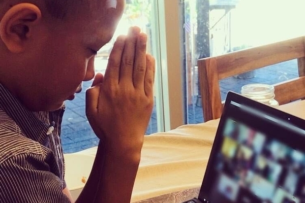 Prayer During a Distance Learning Class