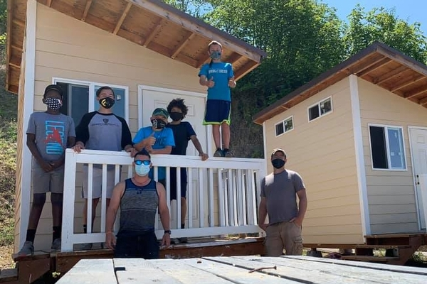 Agape Village Home Building Team
