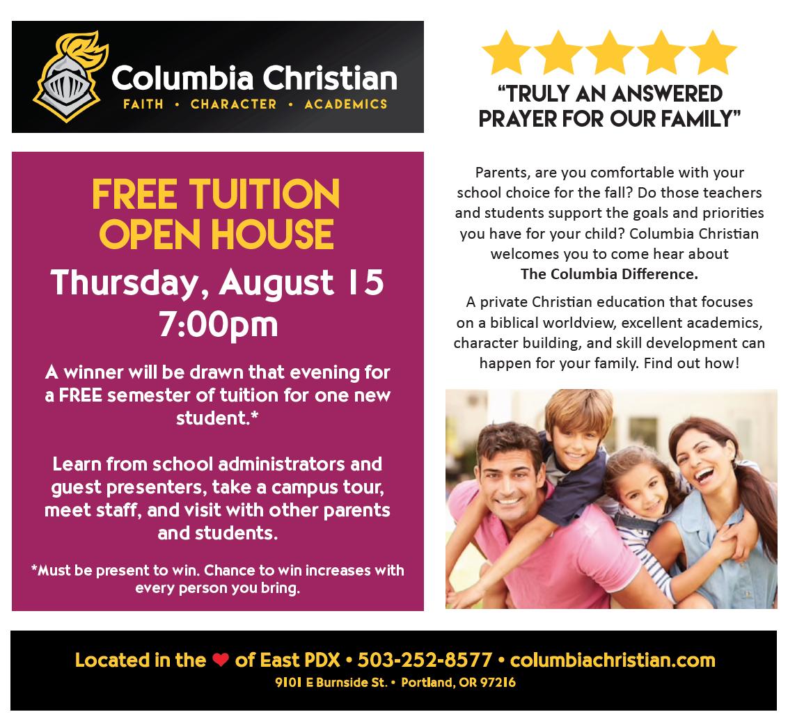 News & Announcements - Columbia Christian School